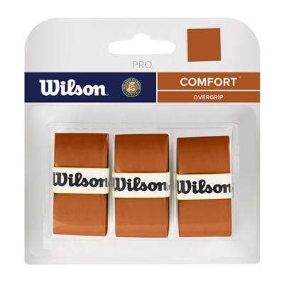 Обмотка для ручки Wilson Overgrip Pro Roland Garros x3 Orange WR8402101001