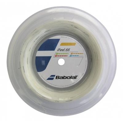 Струна для бадминтона Babolat 200m I Feel 66 White 243127