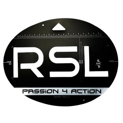 Трафарет для нанесения логотипа RSL Badminton RSL