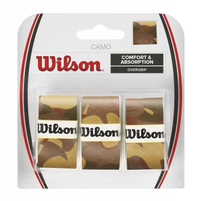 Обмотка для ручки Wilson Overgrip Camo x3 Brown WRZ470860