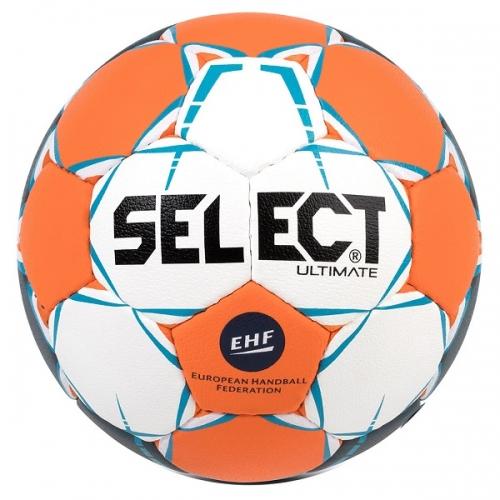 Мяч для гандбола SELECT Ultimate EHF White/Orange 843208-062