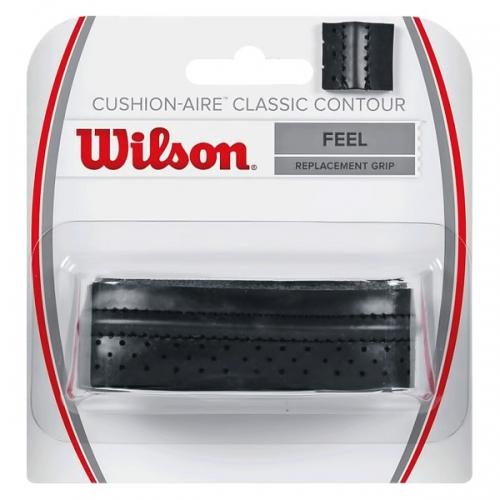 Обмотка для ручки Wilson Grip Cushion Aire Classic Contour x1 Black WRZ4203BK