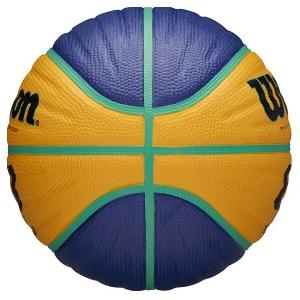 Мяч для баскетбола Wilson FIBA3x3 Replica Blue/Yellow WTB1133XB