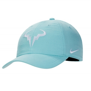 Кепка Nike Court AeroBill H86 Rafa Tennis Hat Cyan 850666-468