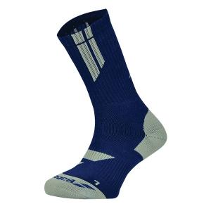 Носки спортивные Babolat Socks Team BigLogo Blue/Gray 5MS18342