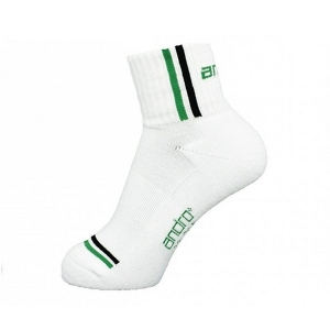 Носки спортивные ANDRO Socks Game White/Green