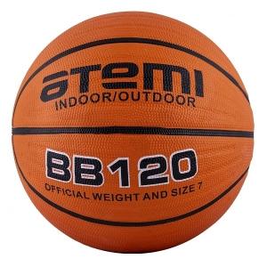 Мяч для баскетбола ATEMI BB120 Orange