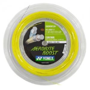 Струна для бадминтона Yonex 200m Aerobite Boost Gray/Yellow