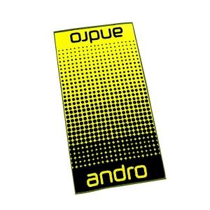 Полотенце ANDRO Dots 50x100 Black/Yellow