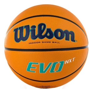 Мяч для баскетбола Wilson EVO NXT Champions League Orange WTB0900XBBCL