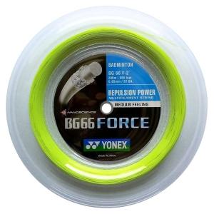 Струна для бадминтона Yonex 200m BG-66 Force Yellow BG66F-2