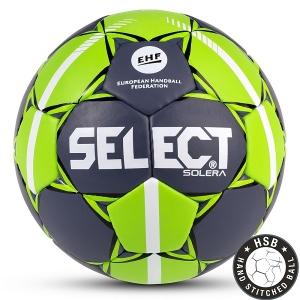 Мяч для гандбола SELECT Solera Gray/Green 843408-994