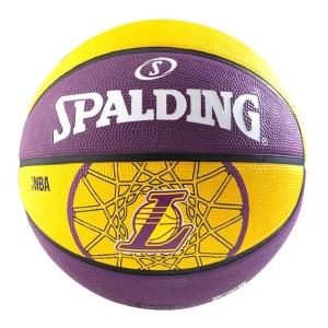 Мяч для баскетбола Spalding NBA Team Lakers Purple/Yellow 83-51