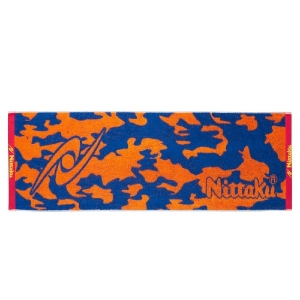 Полотенце Nittaku Camouflage Sport 120x35 Orange