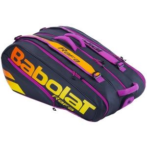 Чехол 10-12 ракеток Babolat Pure Aero Rafa 363 Black/Orange 751215