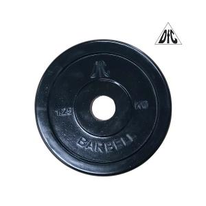 Диск обрезиненный 26mm 1.25kg Black WP021-26-1.25 DFC