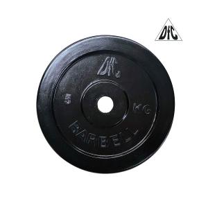 Диск обрезиненный 26mm 5kg Black WP021-26-5 DFC