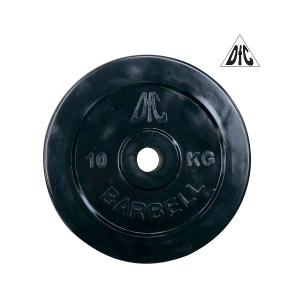 Диск обрезиненный 31mm 10kg Black WP021-31-10 DFC