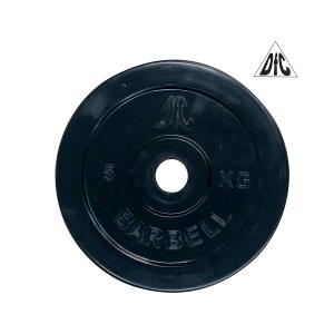Диск обрезиненный 31mm 5kg Black WP021-31-5 DFC