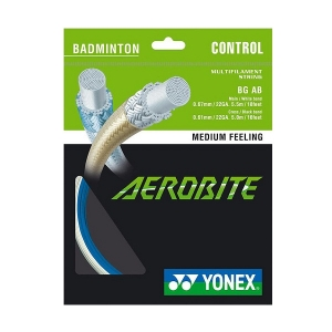 Струна для бадминтона Yonex 10m Aerobite Blue/White