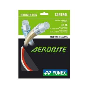 Струна для бадминтона Yonex 10m Aerobite Red/White