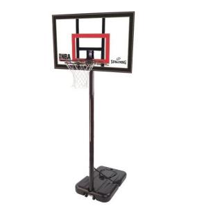 Стойка баскетбольная Spalding Highlight Acrylic 42 мобильная 77799CN