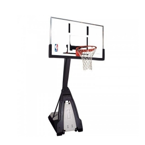Стойка баскетбольная Spalding The Beast Portable Glass 60 мобильная 74560CN