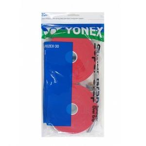 Обмотка для ручки Yonex Overgrip Super Grap х30 Red AC102C-30EX