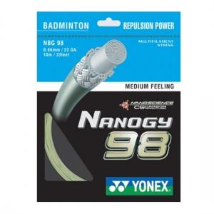 Струна для бадминтона Yonex 10m Nanogy 98 Gold