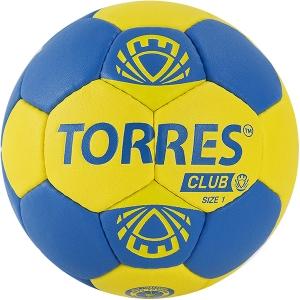 Мяч для гандбола TORRES Club Blue/Yellow H3214
