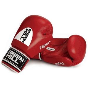 Перчатки боксерские GREEN HILL TIGER Red BGT-2010c-RD