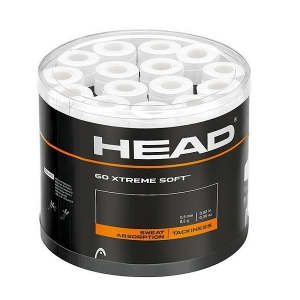 Обмотка для ручки Head Overgrip XtremeSoft Box x60 WH White 285425