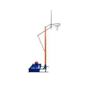 Стойка баскетбольная Мобильная 1200x800mm h2.40-3.05m
