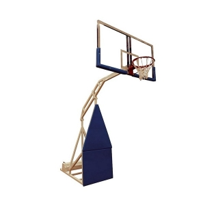 Стойка баскетбольная Мобильная 1800x1050mm h3.05m массовая r2.25m