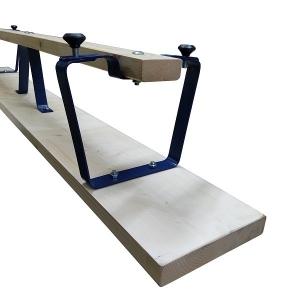 Скамья гимнастическая 2.5m Metal Legs Optima АТ386