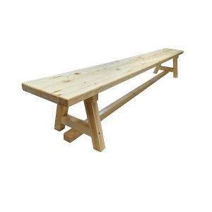 Скамья гимнастическая 2.0m Wood Legs АТ515