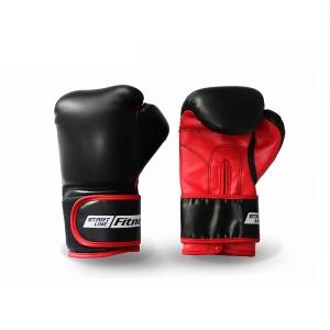 Перчатки боксерские Start Line SLF 1401 Black/Red