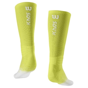 Носки спортивные Wilson Socks Kaos Crew x1 Yellow/White WRA802802