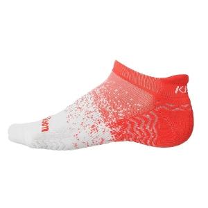 Носки спортивные Wilson Socks Kaos II Noshow x1 Coral/White WRA803203