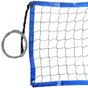 Сетка для пляжного волейбола 3.0mm 8.5x1m Black/Blue FS-PV-№20
