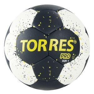 Мяч для гандбола TORRES PRO White/Black H3216