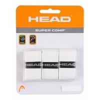 Обмотка для ручки Head Overgrip Super Comp x3 White 285088