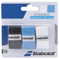 Овергрип Babolat Overgrip My Grip x3 653045 Black/Cyan/White