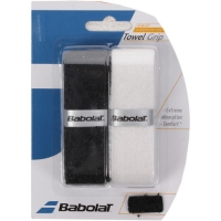 Обмотка для ручки Babolat Grip Towel x2 Black/White 670032