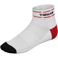 Носки спортивные Tibhar Socks Classic White/Red