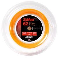 Струна для бадминтона Ashaway 200m Zymax Fire 62 Orange