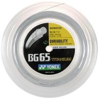 Струна для бадминтона Yonex 200m BG-65 Titanum White BG65-Ti2YX-011