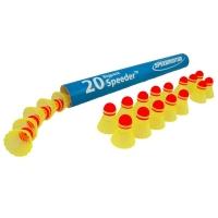 Воланы для кроссминтона Speedminton Speeder Big Tube Match x20 400218