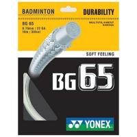 Струна для бадминтона Yonex 10m BG-65 White