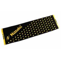 Полотенце Nittaku Sport 120x35 Black/Yellow